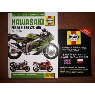 Kawasaki ZX 600 ZX 636 ZX 6 R Ninja 1995-02 Haynes