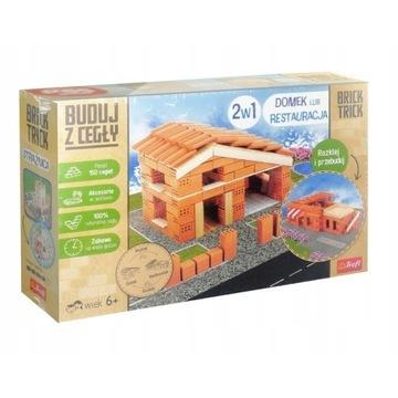 Buduj z Cegły Domek lub Restauracja 2w1 Brick Tric
