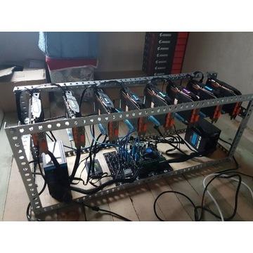 Koparka kryptowalut 8x RX580