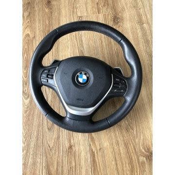 Kierownica BMW F34, BMW 3GT, Łopatki , Poduszka
