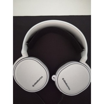 Słuchawki STEELSERIES Arctis 5 Białe