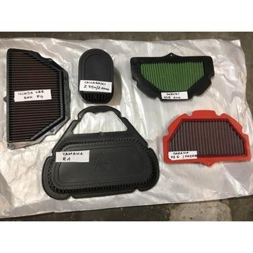 Sportowe filtry powietrza K&N,BMC,Green