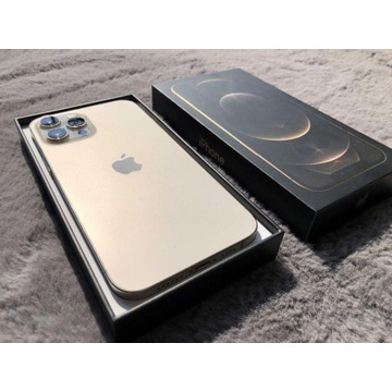 Jak Nowy*iPhone 12 Pro Max Gold 128GB*bateria 99%*