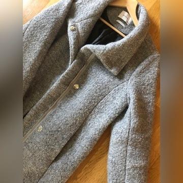 Płaszcz wełna wool blend reserved