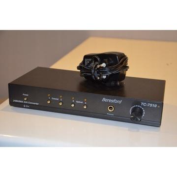 DAC Beresford TC-7510 przetwornik cyf. - analogowy