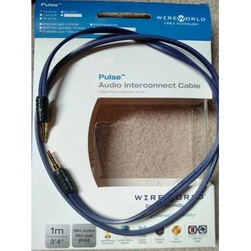 Wireworld Pulse 1m mini jack/mini jack