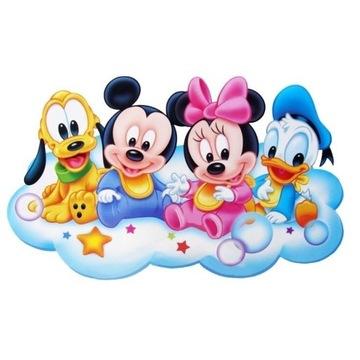 Wydruk z Masy Cukrowej Myszka Miki i Przyjaciele