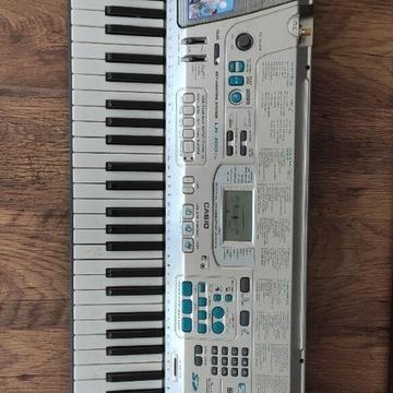 Keyboard CASIO LK-300TV karaoke z osprzętem