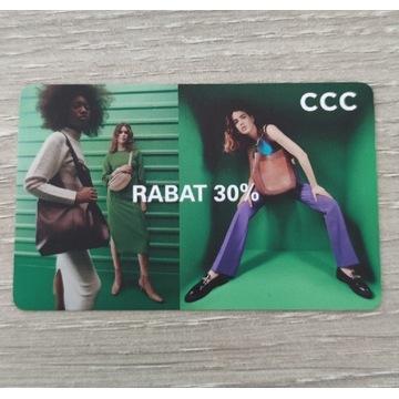 Karty rabatowe CCC 30%