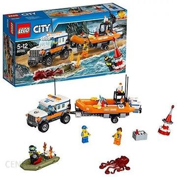 JAK NOWE LEGO CITY 60165 Terenówka, straż 100 %