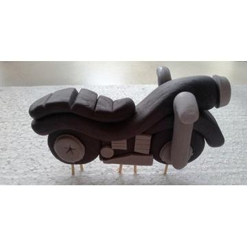 Motor stojący DEKORACJA CUKROWA na tort 3D