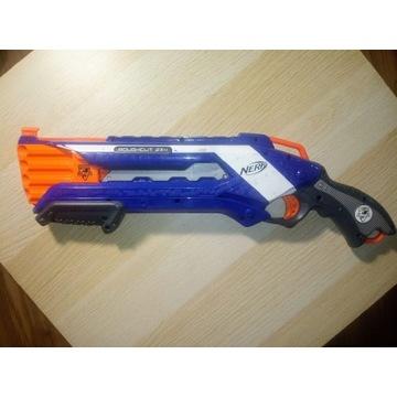NERF Pistolet/Strzelba ROUGHCUT 2X4.