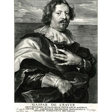Van Dyck/Paulus Pontius, Gaspar de Crayer, XVIIw