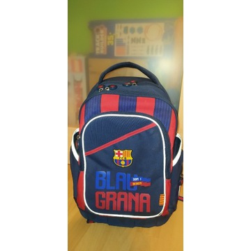 Plecak szkolny tornister FC Barcelona