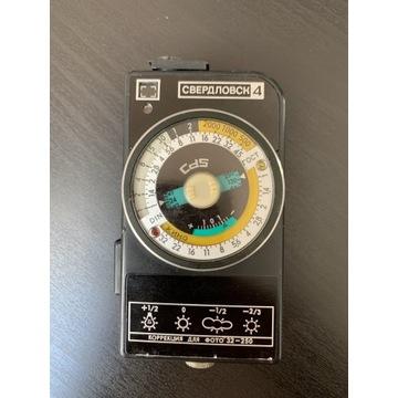 Światłomierz Sverdlovsk 4 Świerdłowsk - analogowy