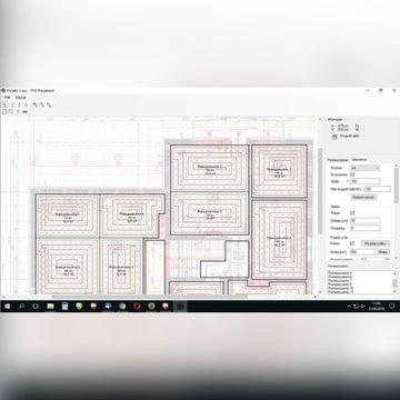 OZC Projekt ogrzewania podłogowego Pompa ciepła