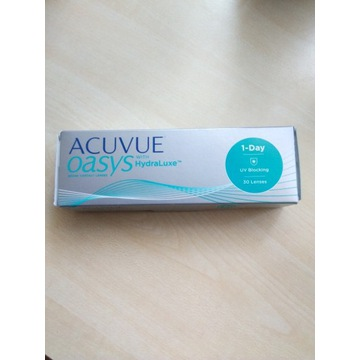Soczewki Acuvue Oasys 1-Day 30 szt -1.00 +gratis