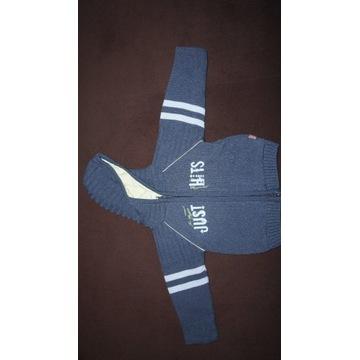 Sweter dla chłopca, rozpinany, na wiosnę roz. 80