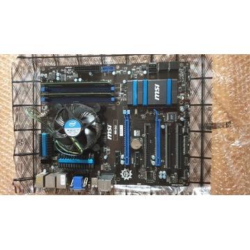 Intel i5 4460+MSI B85-G43+Ballistix Sport 2x4GB