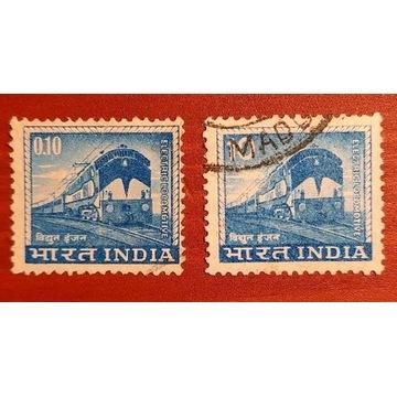 Znaczki Lokomotywy elektryczne Indie