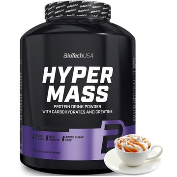 Białko Gainer BioTechUSA Hyper Mass 2270g