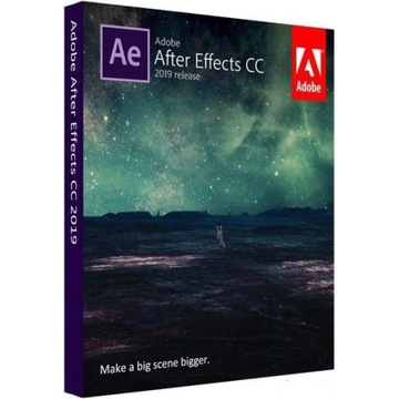Adobe After Effects CC 2019 32/64Bit nowy!!!