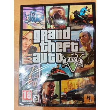 GTA 5 PC GTA V nowa, folia
