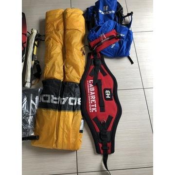 kitesurfing zestaw