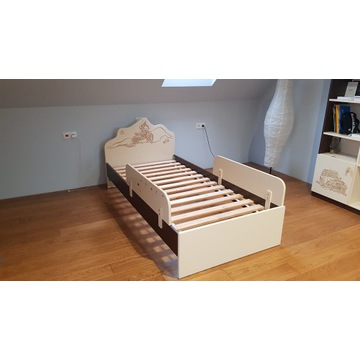 Łóżko firmy Meblik, kolekcja Dakar