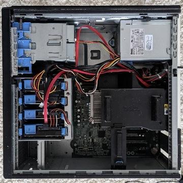 Dell PowerEdge T110 12GB RAM 128GB SSD 4,5TB HDD