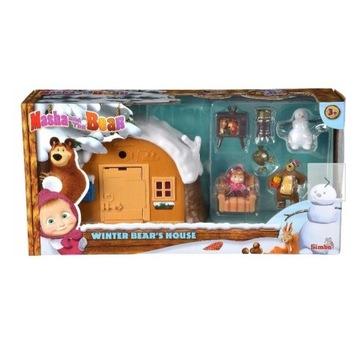 Masza I Niedźwiedź - Zimowy domek