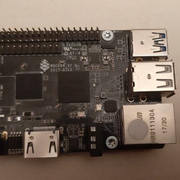 Rock64 v2.0, 2GB komputer jednołytkowy