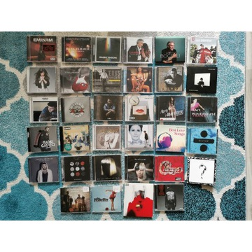38 płyt CD - Muzyka Zagraniczna - Rock, Pop