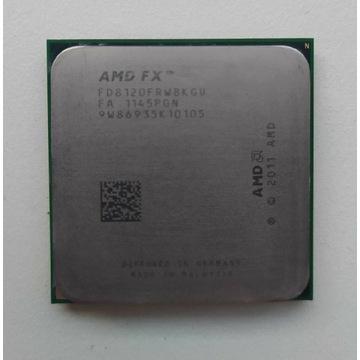 AMD FX 8120 8-Core Socket AM3+ 4GHz