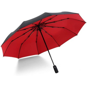 Trwały parasol z 10 żebrami z włókna szklanego -
