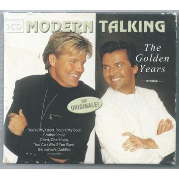 MODERN TALKING - Golden Years - 3xCD BOX Unikat
