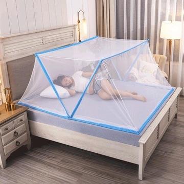 Składana moskitiera siatka przeciw komarom 190x160