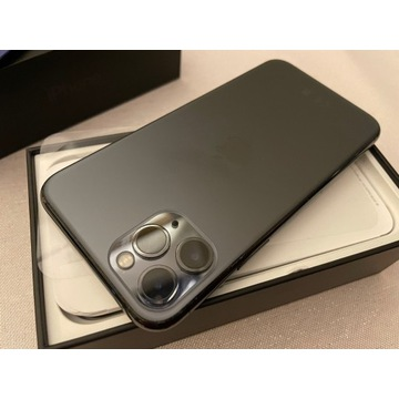 Iphone 11 Pro, 256G, Space Gray- super stan