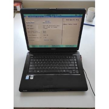 Laptop Toshiba L305 Działa