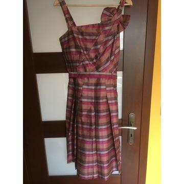 Sukienka MONNARI satynowa rozm.40 Stan BDB