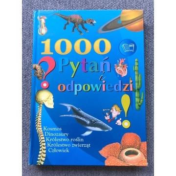 """Książka """"1000 pytań i odpowiedzi """""""