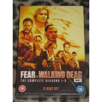 FEAR THE WALKING DEAD   SEZONY 1-3   (11 DVD)