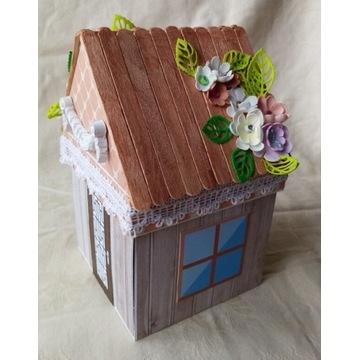 Exploding box domek na urodziny dla dziewczynki