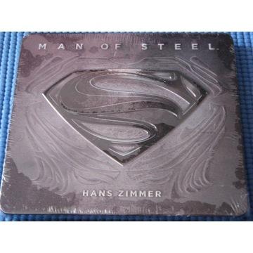 HANS ZIMMER MAN OF STEEL  2CD  score Metal Box