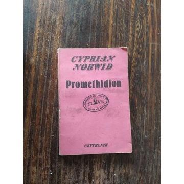 Książka CYPRIAN NORWID PROMETHIDION