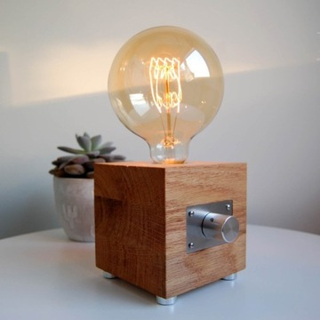 Lampka Edison Vintage Loft ręcznie robiona