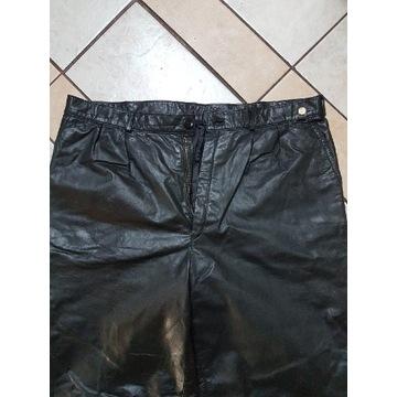 Spodnie skórzane męskie r. 52