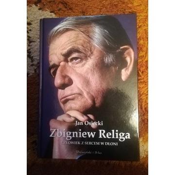 """NOWA książka """"Zbigniew Religa Człowiek z sercem.."""""""