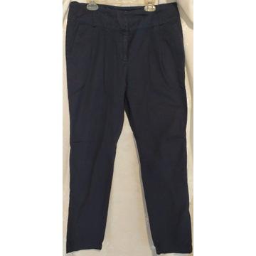 Eleganckie granatowe spodnie, Promod