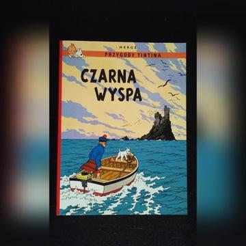 Czarna wyspa. Przygody Tintina. Tom 7